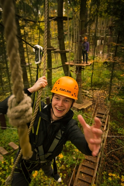 Kletterwald Prien am Chiemsee - Teamtraining