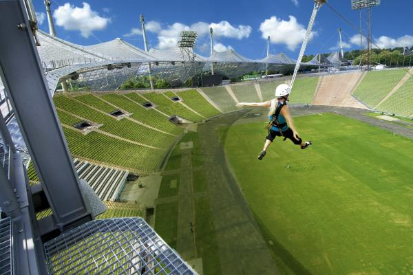 Flying Fox - Olympiastadion